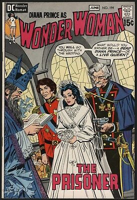 Wonder Woman #194  From Jun 1971 Very Glossy Cents Copy With White Pages