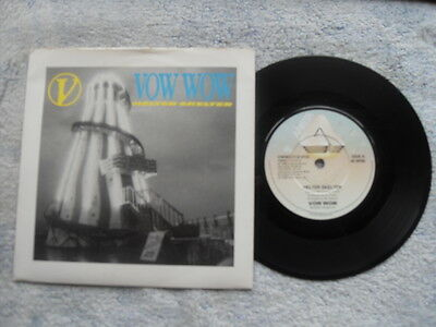 """VOW WOW HELTER SKELTER ARISTA RECORDS UK 7"""" VINYL SINGLE in PICTURE SLEEVE"""