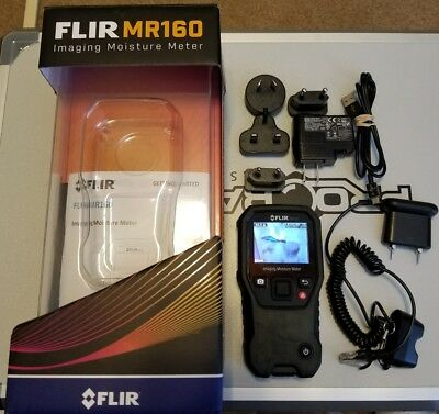 FLIR MR160 Hand Held Two-In-One Moisture Meter and Thermal Imager