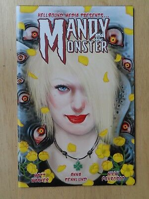 MANDY and the MONSTER #1 - Hellbound Media - Rare