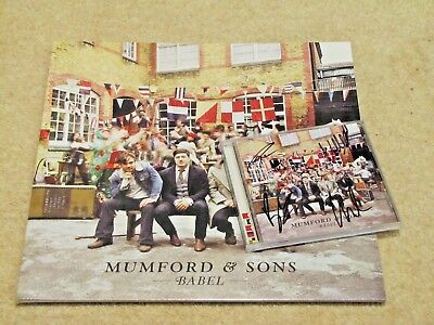 MUMFORD & SONS Signed album + posters bundle - Streets of London charity auction