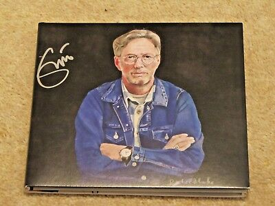 ERIC CLAPTON Signed 'I Still Do' CD album - Streets of London charity auction