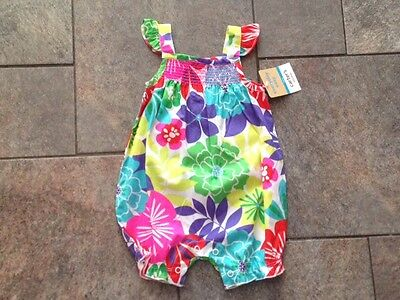 5c6a30c8d NWT CARTERS SIZE 4 6 Tropical Bird 3 Piece Pajama Shorts Pants Top ...