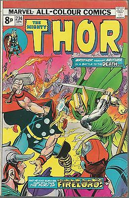 Marvel Comics THE MIGHTY THOR Issue 234 1975 Bronze Age  ****FREE POSTAGE****