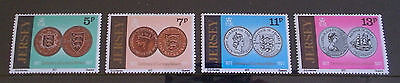 1977 Centenary of Currency Reform (Jersey MNH set of 4)