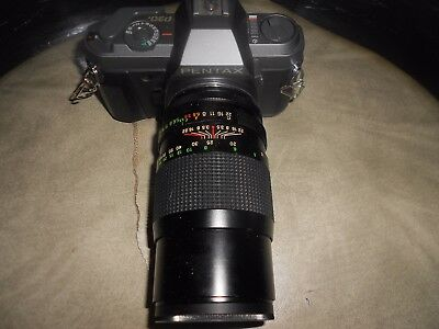 pentax 35 mm camera with lense