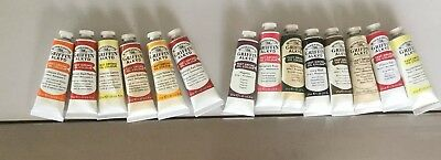 14 X Tubes Fast Drying Oil Paint-Winsor & Newton -Assorted Colours-Series 1 & 2