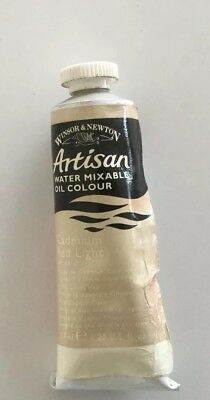 1 X 'artisan' Water Mixable Oil Colour-Winsor & Newton -Series 1 - Cad Red Light