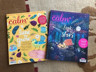 Project Calm Magazines Like New Choose Your Edition