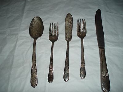 Wm Rogers * MFG CO 1938 Set of 5 Devonshire