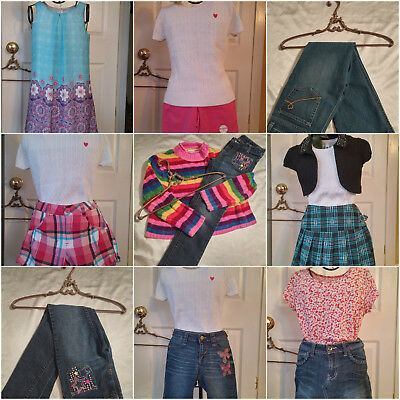 HUGE lot Girl clothes size 10, 10/12 Justice, Childrens Place, Cherokee and More