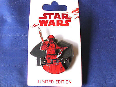 Disney Star Wars * ELITE GUARD - STORMTROOPER - FIRST ORDER * New on Card LE Pin