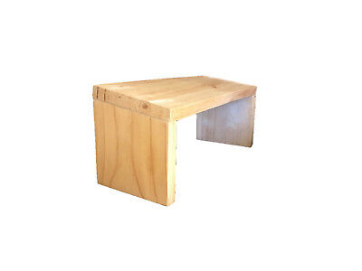 Foldable Yoga Meditation stool kneeling prayer hand made Wood bench Foot Support