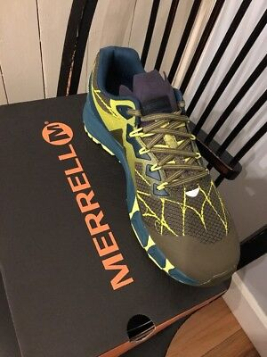 Merrell Agility Peak Flex Trail Running Men s US 9.5 Dark Olive NEW in Box! 2ffbae1d00a