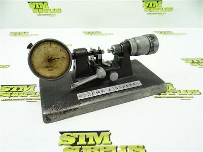 Brown And Sharpe Precision Bench Micrometer .0001 Model 245