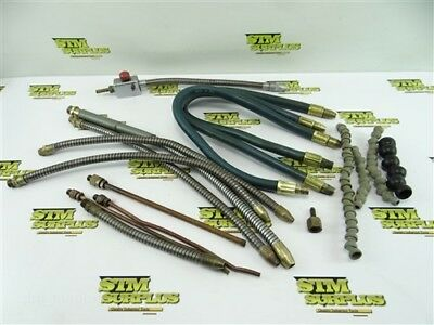 Nice Lot Of Assorted Loc Line & Flex Stay Coolant Hose + Nozzles & Valve