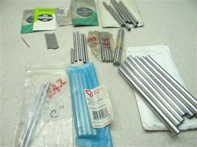 """Large Lot Of Assorted Hss Reamer Blanks 3/64"""" To 13/32"""" Ptd Atd Vermont"""
