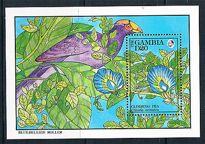 Gambia 1992 Flowers MS SG 1329d MNH