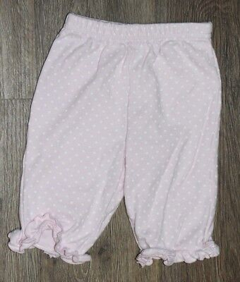 Carter's Baby Girl Light Pink Pants w/ Polka Dots ~ Size 6 Months