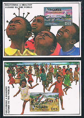 Gambia 1989 Medical Discoveries MS SG 959 MNH