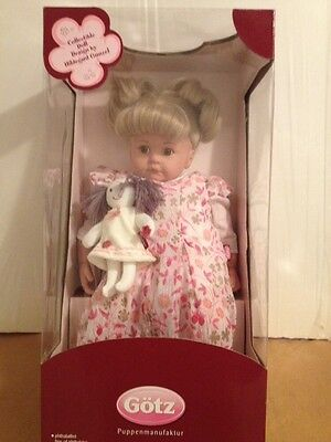"Gotz 25"" Cleseste Doll By Hildegard Gunzel Collectible w/ COA NEW in Box HTF"