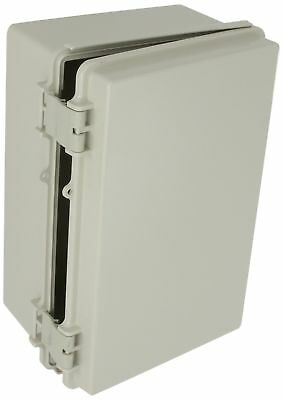 Plastic Box Solid Door Electrical Enclosure Waterproof Plastic ABS Light Gray
