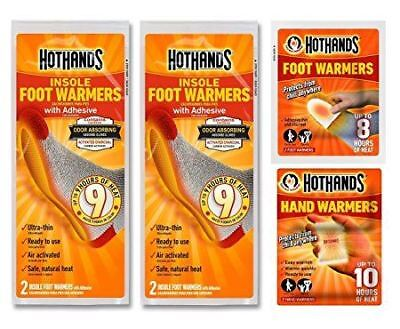 HotHands Deal | 4x Insole Foot Warmers | 2x Foot Warmers | 2x Hand Warmers