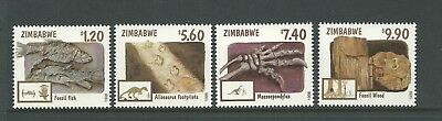 1998 Fossils set 4 Complete MUH/MNH as Issued