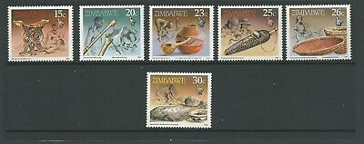 1990 Cultural Artifacts  set 6 MUH/MNH as Issued