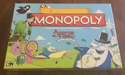 Monopoly Adventure Time Board Game COLLECTORS  EDITION 2013 - Like New