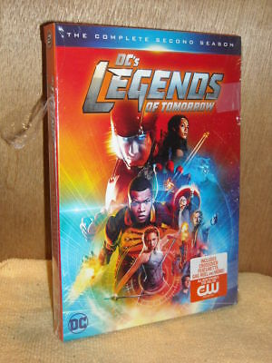DCs Legends of Tomorrow: The Complete Second Season (DVD, 2017, 4-Disc Set)