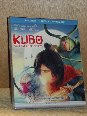 Kubo and the Two Strings (Blu-ray/DVD, 2016, 2-Disc Set, Includes Digital Cop...