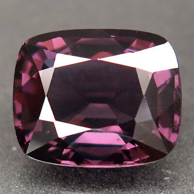 4.91ct.Shimmering! 100%Natural Rich Pink Purple Spinel Unheated 11x9mm.AAA Nr!
