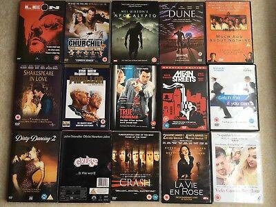 Dvds Bundle (15 movies)