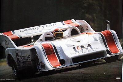 Porsche 917 Can Am Turbo 1972 - Follmer - Poster - Team Penske Audi