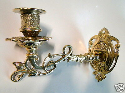 Wall Mounted Candle Holder, Sconces Brass Piano Candlestick Leuchter1082258