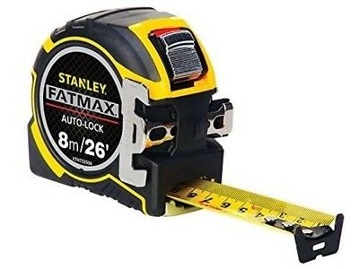 Stanley Tools ZSTA-0-33-504 8 m FatMax Pro Autolock Tape BRAND NEW