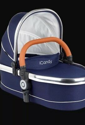 icandy Peach 3 Carrycot Royal Blue