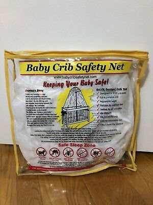 Baby Crib Safety Net Canopy