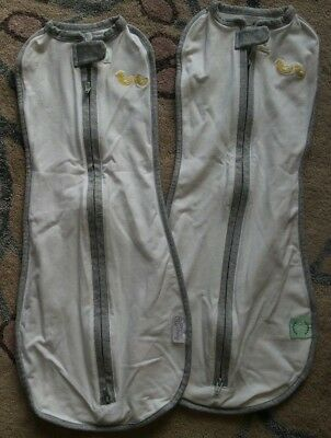 Brand New 2 X Swaddle Bags 0-3 Months!
