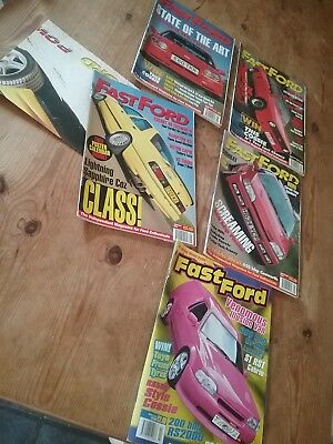 FAST FORD MAGAZINE BUNDLE  x 5
