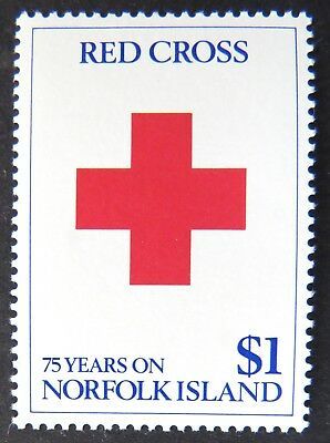 1989 Norfolk Island Stamps - 75th Anniversary of Red Cross - Single MNH