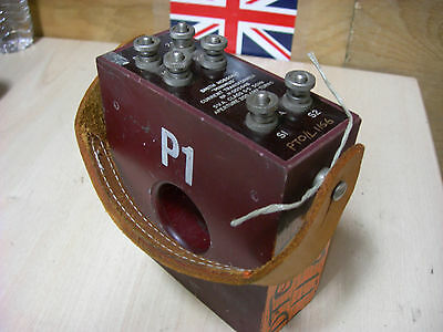 Vintage Ex Mod Smith Hobson Current Transformer Collectors Piece (018)