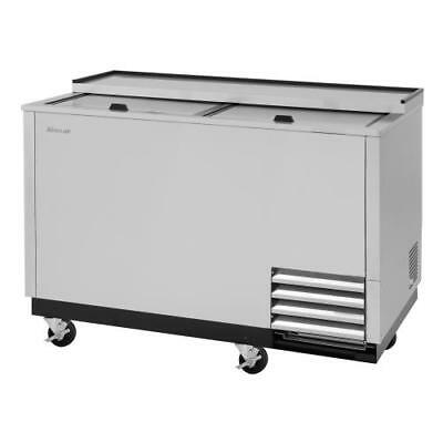 Turbo Air - TBC-50SD-GF-N - 50 in 2-Lid Stainless Steel Glass Chiller