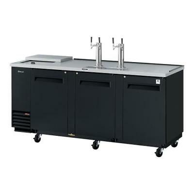 Turbo Air - TCB-4SB-N - 90 in Black Club Top Beer Dispenser