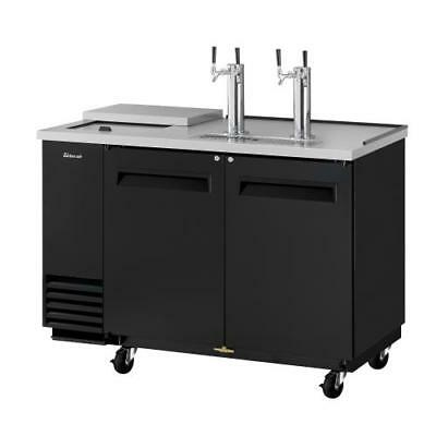 Turbo Air - TCB-2SB-N6 - 59 in Black Club Top Beer Dispenser