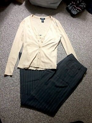 Women's New Express Editor Pants Size 4 Shirt Blouse Size XS/S Professional Work