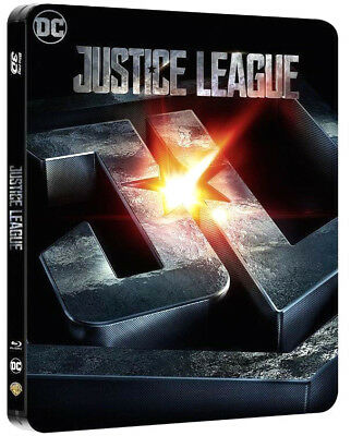 JUSTICE LEAGUE - Edizione Steelbook (2 BLU-RAY 3D + 2D) Lingua Italiana
