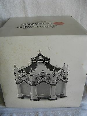 DEPT 56 - Snow Village - THE CARNIVAL CAROUSEL - NEW - #54933 - 30 Songs