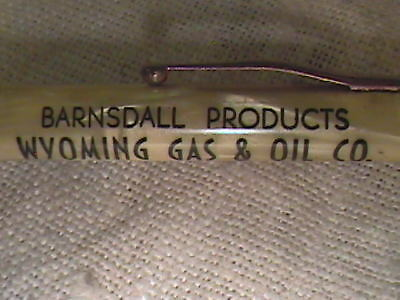 Vintage Advertising Barnsdall Wyoming Gas/oil Company Mechanical Pencil !!
